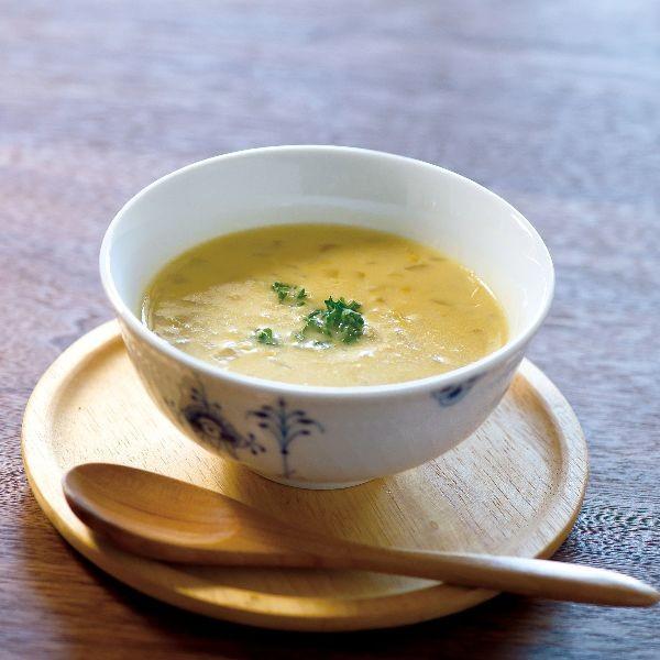 《是媽媽教我成為美食家》堅守原則的美味 【recipe|玉米湯 コンスープ】